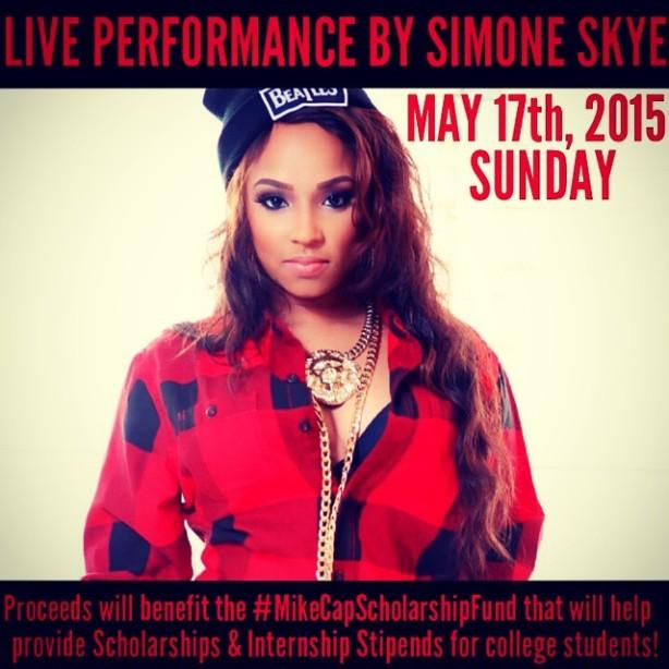 Recording Artist Simone Skye