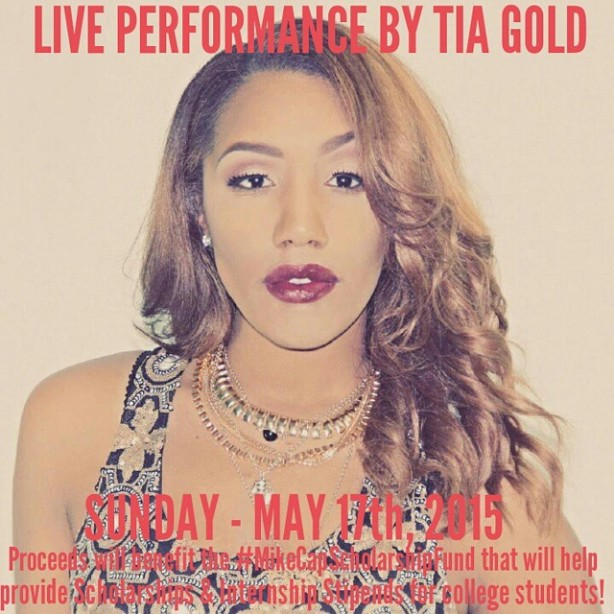 Recording Artist Tia Gold